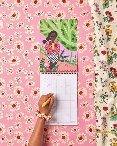 One of my favourite times of the year is fall, not only for the cooler weather and beautiful fall foliage, but it's also the time when all the stationers start sharing all of their beautiful calendars for the upcoming new year. There's something hopeful as beautiful new designs are revealed, to help push forward positive vibes for the future and new year ahead. And as tradition has it, here's a little round-up of a few that crossed our path this season.