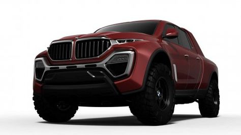 Lets face it a BMW pickup truck rendering was waiting to happen