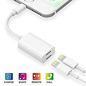 Apple Mfi Certified Dual Lightning Iphone Splitter 2 In 1 Lightn Wireless Speakers Portable Bluetooth Speakers Portable Waterproof Portable Bluetooth Speaker