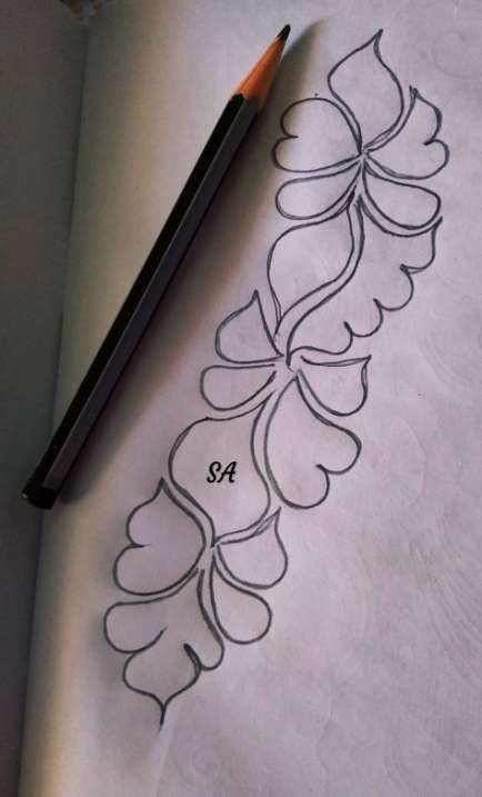 56 Trendy Embroidery Designs Art Drawings Hand Embroidery Design Patterns Beginner Henna Designs Hand Embroidery Designs