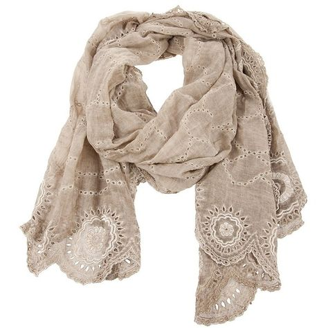 2019 autentico metà prezzo super qualità FALIERO SARTI SCARF SAND/NATURAL COTTON/SILK - found on ...