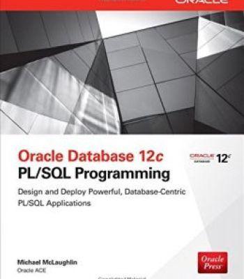 Oracle Database 12c Pl Sql Programming Pdf Oracle Database Pl Sql Enterprise Application