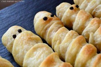 Saucisses - pâte feuilleté - simple et rapide à faire avec les enfants c'est plus marrant.
