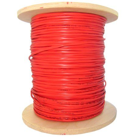 Accl 1000ft 2 Fiber Indoor Distribution Fiber Optic Cable Multimode 62 5 125 Riser Rated Spool Orange 1pk Fiber Optic Cable Fiber Optic Fiber Optic Connectors