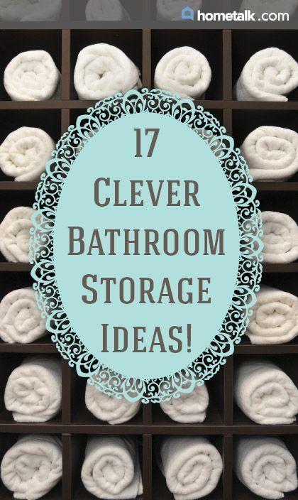 home_decor - 21 brilliant bathroom storage ideas Idea Box by Lura Lumsden
