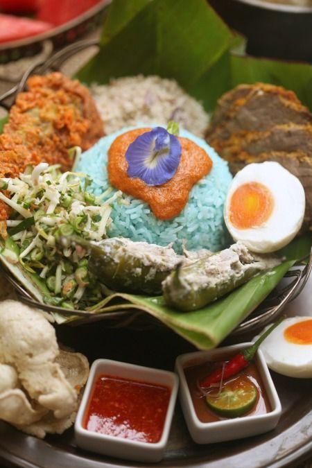 Resepi Nasi Kerabu Kelantan Yang Sangat Sedap Masam Manis Resep Makanan Makanan Resep