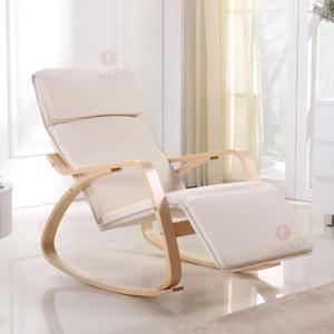 Rocking Chair Chaise A Bascule Fauteil Relaxant Rockingchair Rocking Chair Comfy Chairs Chair