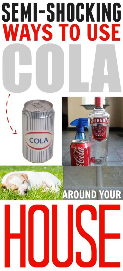 This Is Why You Should Always Keep A Can Or Two Of Cola Around The