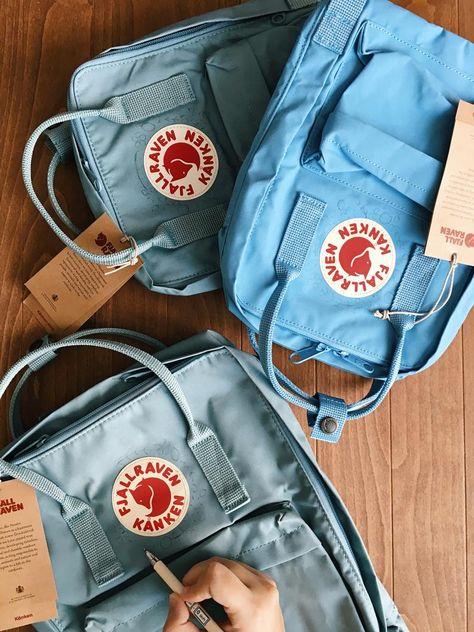 Customizable Fjallraven Kanken Hand Embroidery Backpack You can choose your favorite color from the Fjallraven Kanken website!