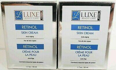 Luxe Beauty Care Premium Retinol 2 1 7 Oz Each Firming Skin Cream Skin Cream Beauty Care