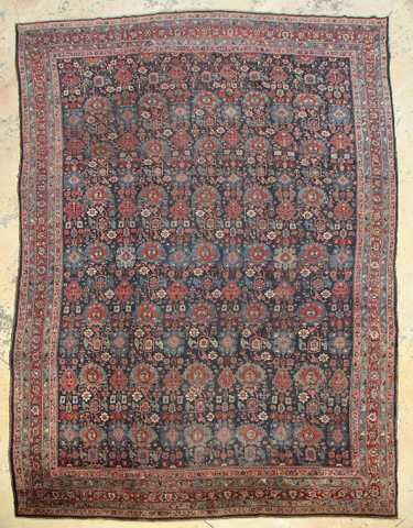 Antique Bidjar Rug Persia 12 8 X 20 0 With Images Rugs On Carpet Rugs Persian Carpet