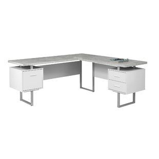 Contemporary White Corner Desks White Corner Desk L Shaped Corner Desk Corner Desk