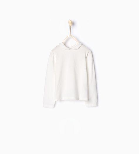 Zara Kinder Shirt Aus Biobaumwolle Mit Bubikragen Zara
