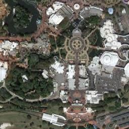 Disney World - Magic Kingdom in Orlando, FL (Google Maps)   Here we ...