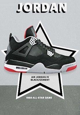 Air Jordan Iv 1989 All Star Game Air Jordans Nike Sneakers Women Jordan Shoes