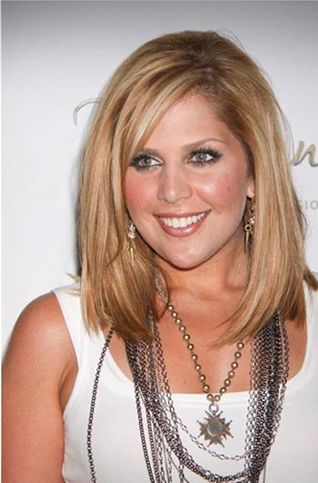 Hillary Scott of Lady Antebellum wearing Lizzy Couture necklace