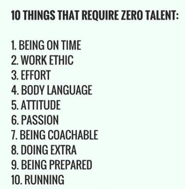 10 Things That Require Zero Talent Mental Quotes