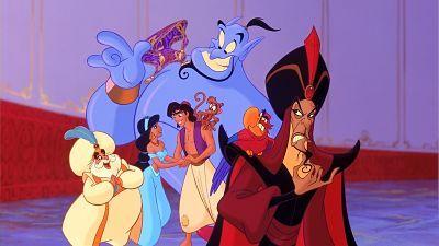 Aladdin 1992 Disney Animated Films Disney Aladdin Animation Film