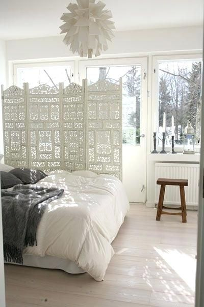 Privacy Screen Bedroom The Best Room Divider Headboard Ideas On