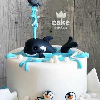 Dolphins Ocean Sea World Edible Birthday Cake Image Topper Frosting Icing