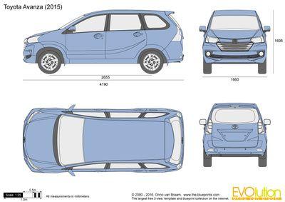 Toyota Avanza Toyota Minions Wallpaper Car Blueprint