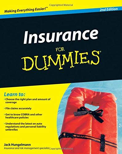 Download Pdf Insurance For Dummies Free Epub Mobi Ebooks Online