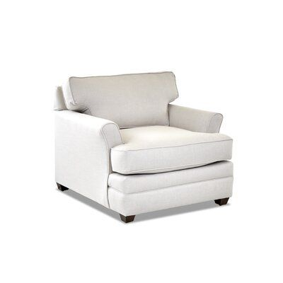 Klaussner Furniture Living Your Way Flare Arm Chair Cozy Chair