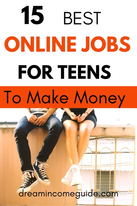Online Jobs For Teens To Make Money