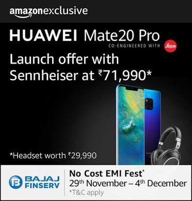 Huawei Mate 20 Pro Twilight Blue 6gb Ram 128gb Storage Price In India Huawei Mate Huawei Price