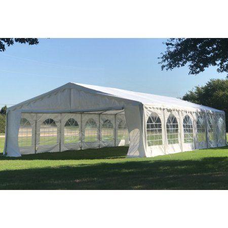 Buy 40u0027x20u0027 Budget PE Party Tent Canopy Shelter - By  sc 1 st  Pinterest & Free Shipping. Buy 40u0027x20u0027 Budget PE Party Tent Canopy Shelter ...