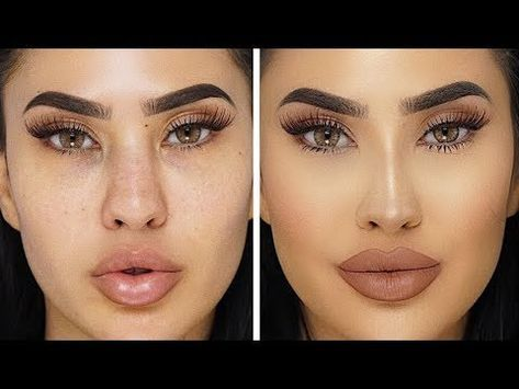 How To Fake A Nose Job Nose Contour Tutorial Brittanybearmakeup Youtube Nose Contouring Nose Makeup Contour Makeup