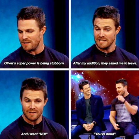 Stephen Amell on Conan Visit to grab an amazing super hero shirt now . - Stephen Amell on Conan Visit to grab an amazing super hero shirt now – Funny Team Shir - Superhero Shows, Superhero Memes, Team Arrow, Arrow Tv, Supergirl Dc, Supergirl And Flash, The Flash, Arrow Flash, Dc Memes