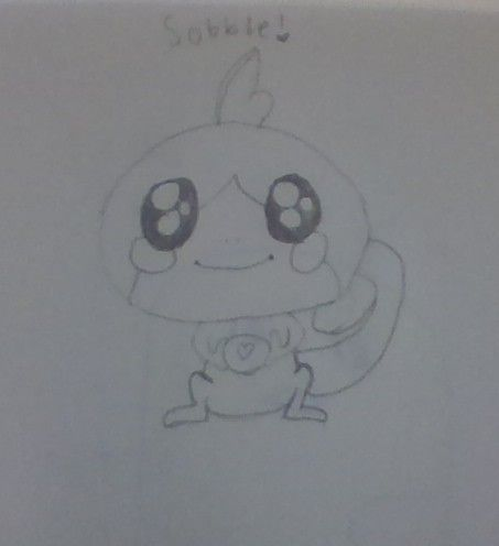Sobble Pokemon Drawings Cute Drawings My Drawings