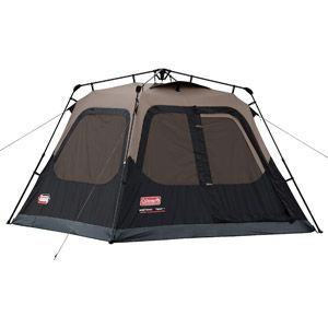 Coleman 4 Person Cabin Tent Walmart Com Best Tents For Camping Family Tent Camping Cool Tents