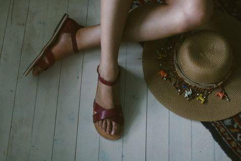 07b86c059408f Marsala Sandals,Bordeaux Women Sandals, Leather Sandals, Women ...