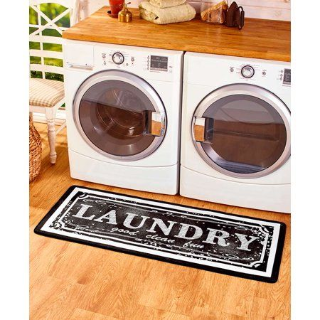 Laundry Rug Farmhouse Style Decoration For Laundry Rooms