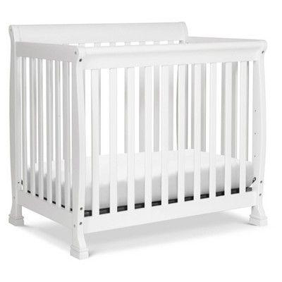 Davinci Kalani 4 In 1 Convertible Mini Crib And Twin Bed White In 2020 Mini Crib Convertible Crib Cribs