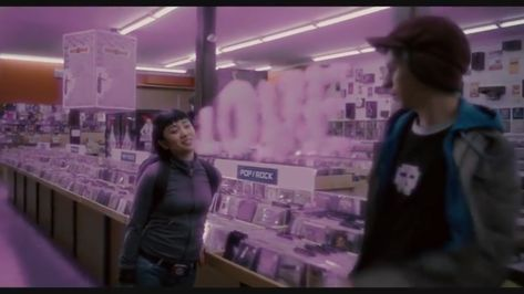 In Scott Pilgrim Vs The World, when Knives announces her love for Scott it syncs up with the clash at demon head song's lyrics in the background.