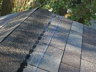 How To Shingle A Roof Ridge Cap Shingles Top Row Layout Details Preventing Moss And Fungus On Roof Ridge Cap Installing Shingles Shingling