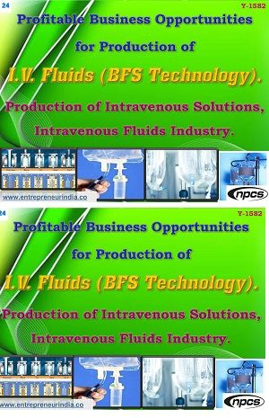 Profitable Business Opportunities For Production Of I V Fluids Bfs Technology Profitable Business Fluid Technology