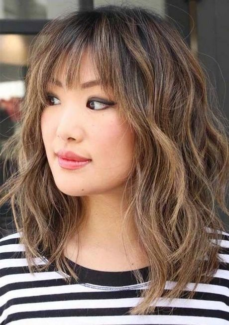 Easy Hairstyles For Long Hair With Bangs