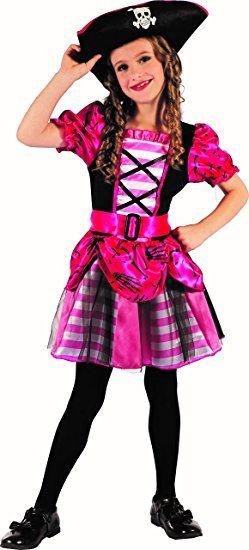 a935c1c00c95e Schickes Piratenmädchen - Piraten Kostüm Kinder Mädchen pink ...