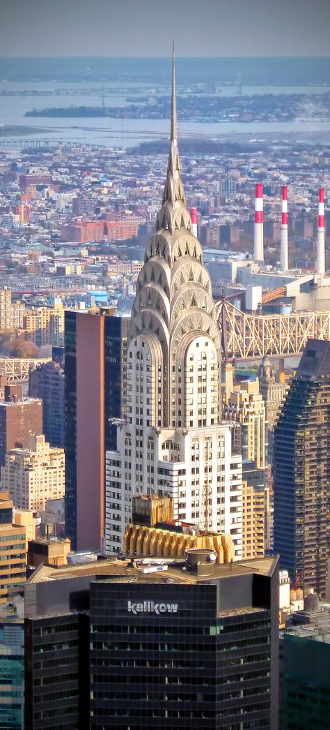 Chryslerbuilding View Of The Chrysler Building As Seen From The