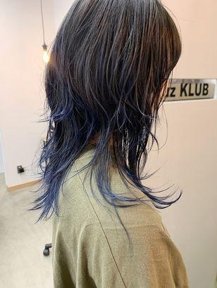 2020年春 セミロング ウルフの髪型 ヘアアレンジ 人気順 7ページ目 ホットペッパービューティー ヘアスタイル ヘアカタログ ロングウルフ 髪型 ヘアスタイル