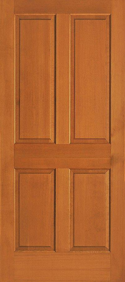 Heritage 4 Panel Vertical Grain Douglas Fir Interior Door 1 3 8 Wood Doors Interior Doors Interior French Doors Interior