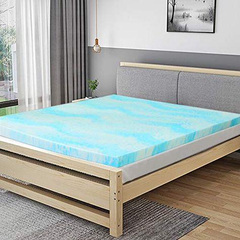 Buy Now Mattress Topper 2 Inch Gel Memory Foam Mattress Topper