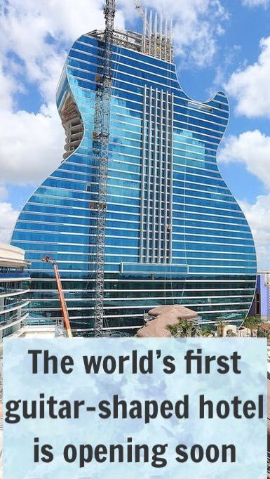 The World S First Guitar Shaped Hotel Is About To Open In Florida