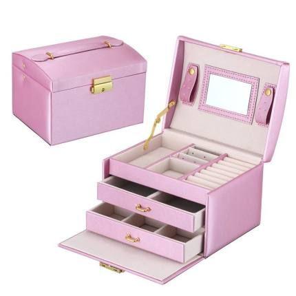 Jewelry Large Box - United States / Purple