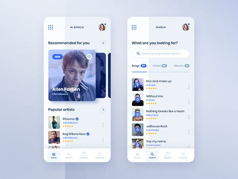 #1 MyMusic - MobileApp Concept Project