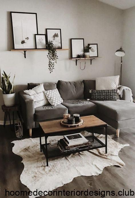 10 Different Ways To Style Floating Shelves Living Room Decor Apartment Farm House Living Room Living Room Decor Modern